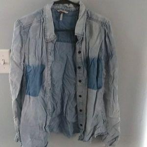 Bke long sleeve button up shirt